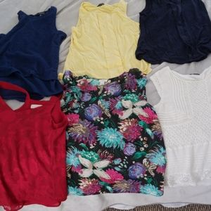 Lot of 6 XS blouses